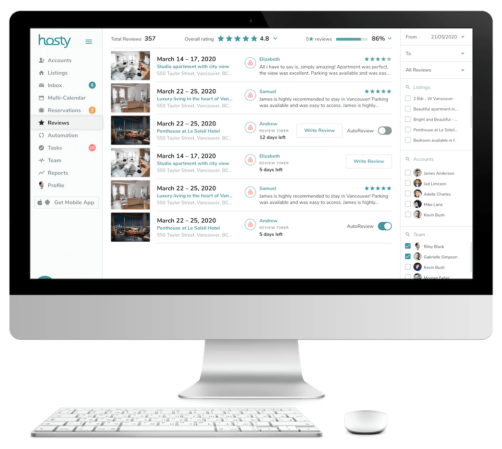 Airbnb Review Management Tools
