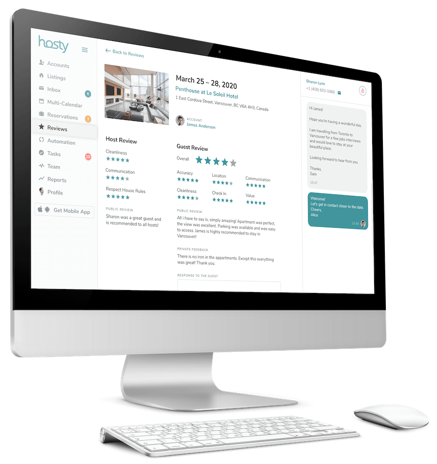 Airbnb Review Manager