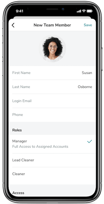Airbnb Team Manager Mobile App